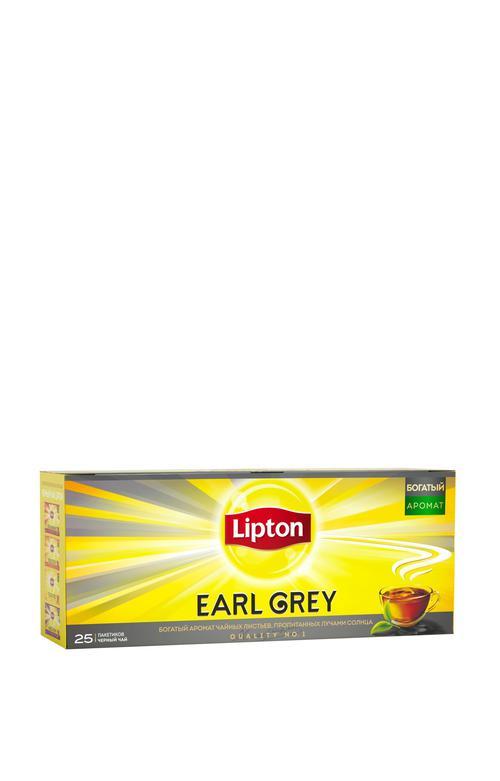 стоимость Чай черный Lipton Earl Grey