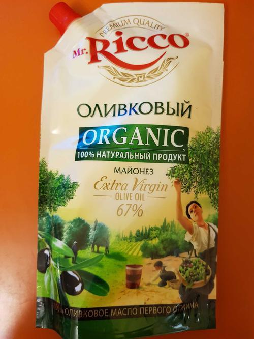 цена Майонез Майонез Mr. Ricco оливковый