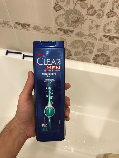 фото3 Шампунь против перхоти для нормальных волос и кожи головы Clear Vita ABE Men Активспорт  2в1, Освежающая чистота на долго, формула с витаминами и минералами, 400мл.