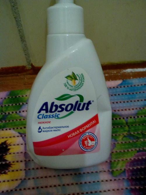 отзыв Мыло Absolut Classic жидкое