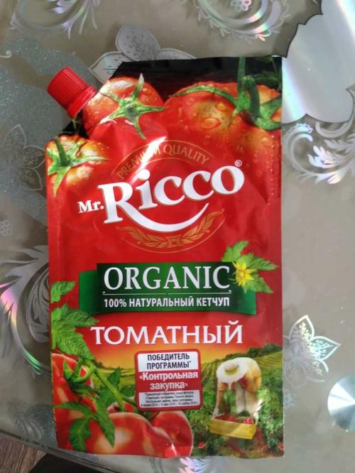 фото2 Кетчуп томатный Pomodoro Speciale Mr.Ricco. Высшая категория. Пастеризованный.