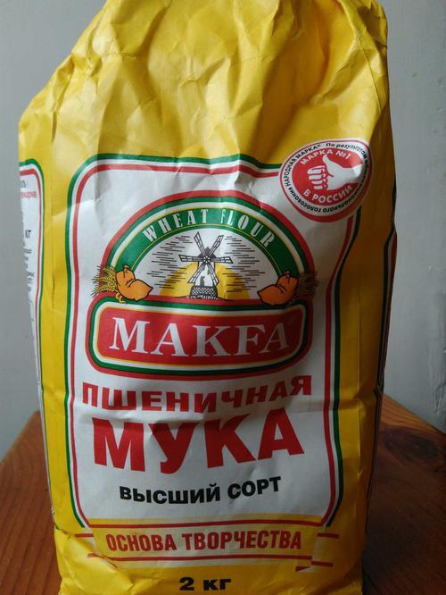 фото14 Мука пшеничная хлебопекарная «MAKFA»
