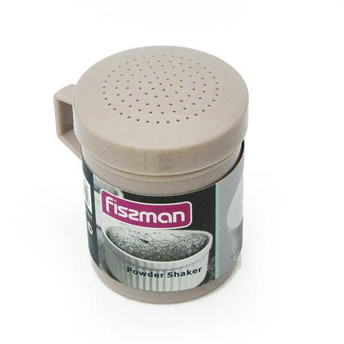 Шейкер для сахарной пудры цвет Аквамарин (пластик)