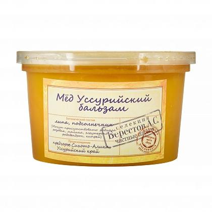 Мёд натуральный цветочный полифлорный