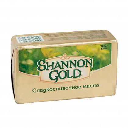 Масло сладкосливочное Shannon Gold. Массовая доля жира 82%