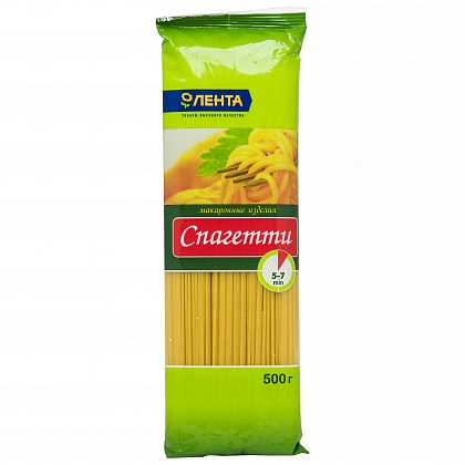 Спагетти «ЛЕНТА»