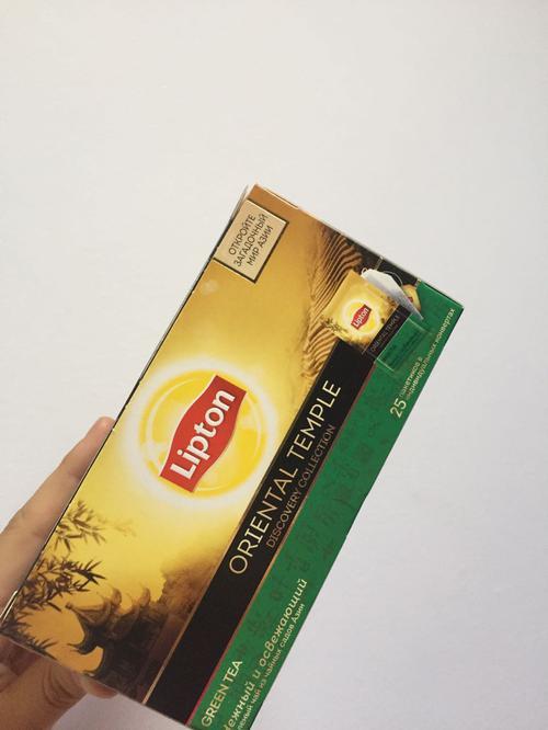 стоимость Чай зеленый байховый Lipton Oriental Temple