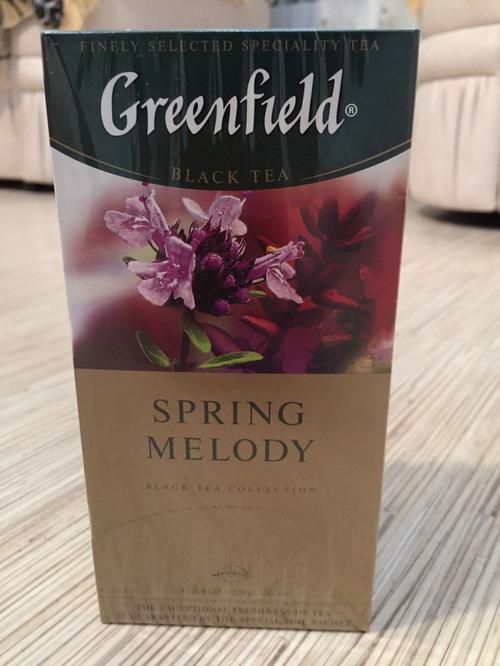 фото7 Чай черный байховый Гринфилд Спринг Мелоди в пакетиках