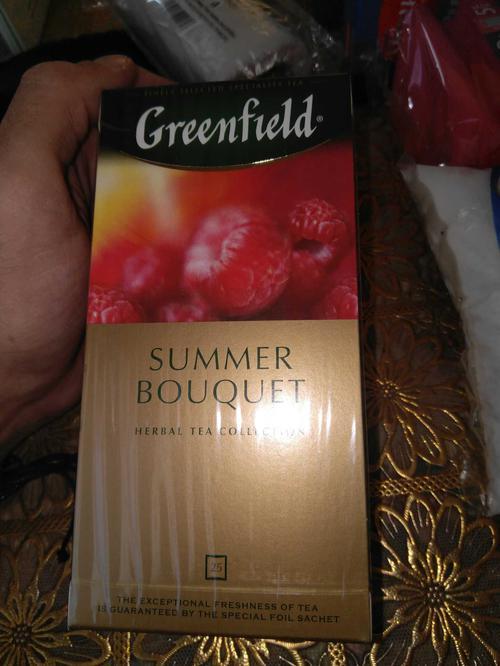 фото1 Напиток чайный Гринфилд Самма Букет в пакетиках