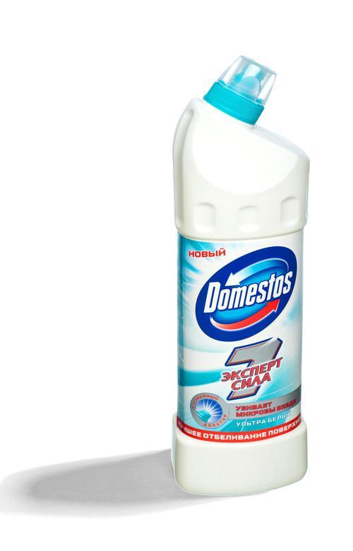описание Domestos, ультра белый
