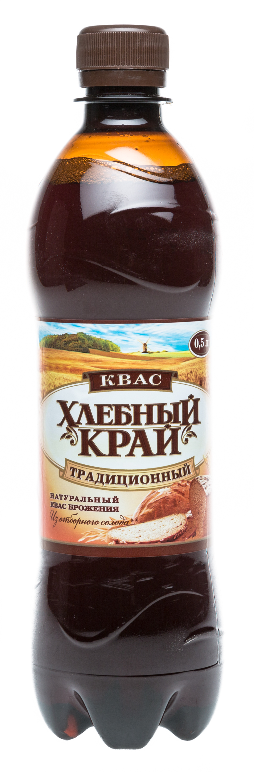 Квас пастеризованный Хлебный Край Традиционный