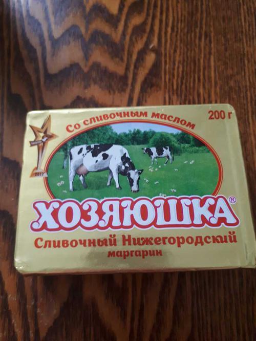 "фото2 Маргарин ""Хозяюшка"" Сливочный Нижегородский 60%"