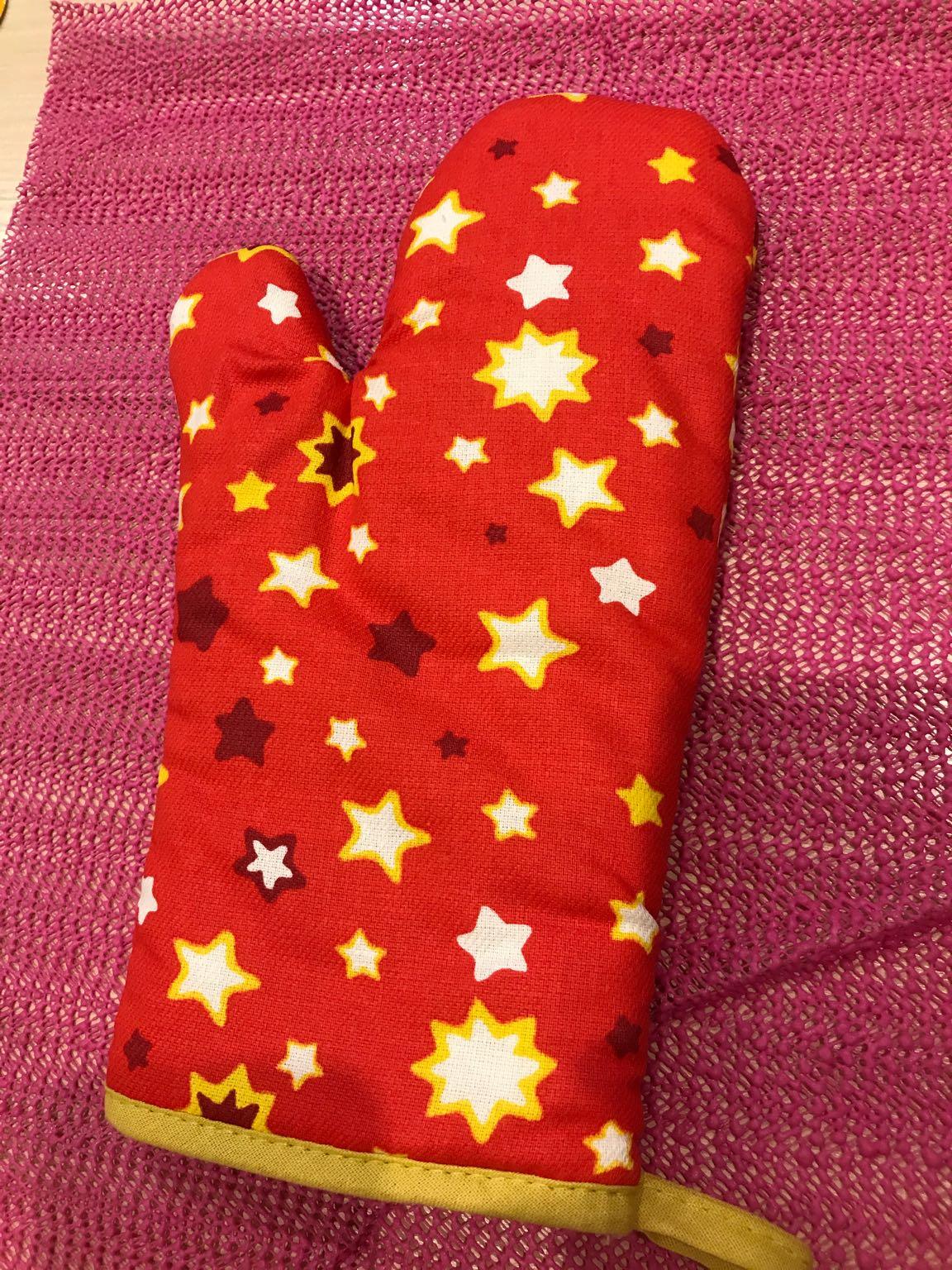 Рукавица бандита рождественская звезда
