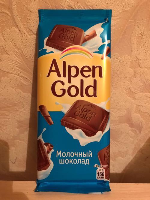 фото Шоколад Alpen Gold молочный, 90гр.