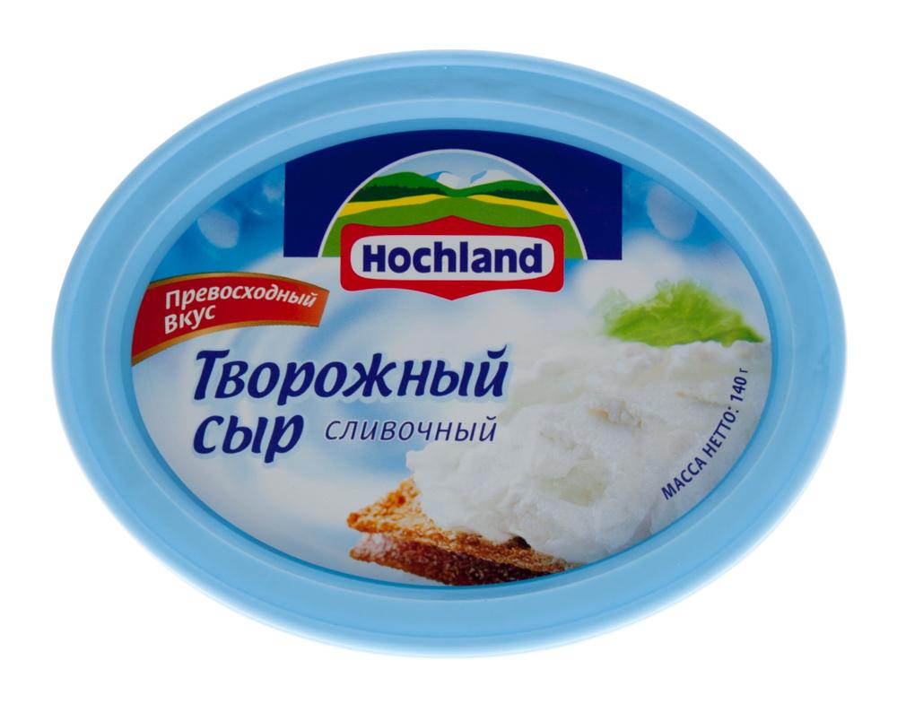 Творожный сыр Hochland