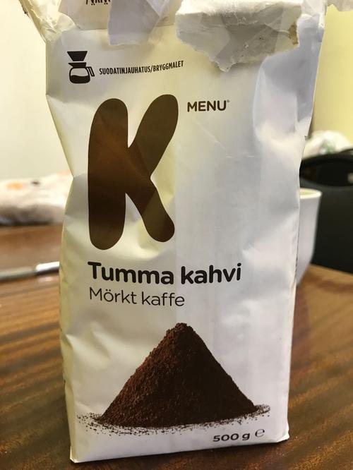 Tumma kahvi (кофе)