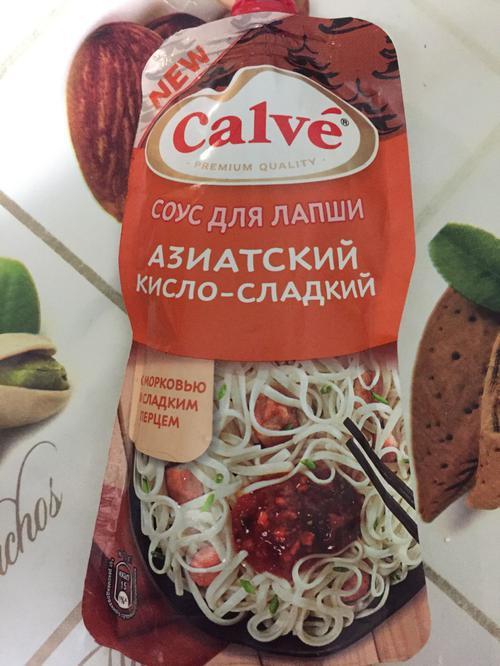 стоимость Соус Calve азиатский кисло-сдадкий