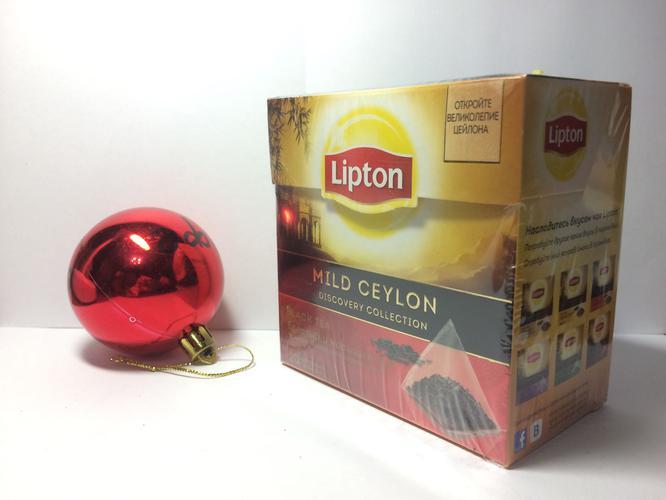 стоимость Чай чёрный Lipton Mild Celon байховый цейлонский, 20пак.