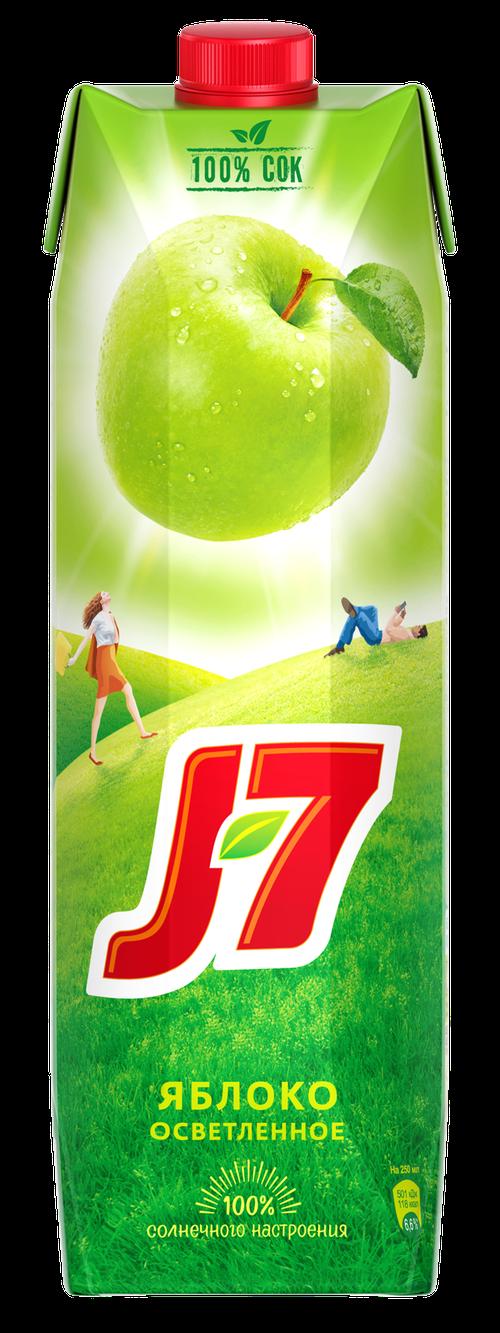 описание Сок J7 яблочный