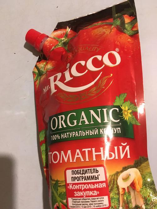 фото10 Кетчуп томатный Pomodoro Speciale Mr.Ricco. Высшая категория. Пастеризованный.