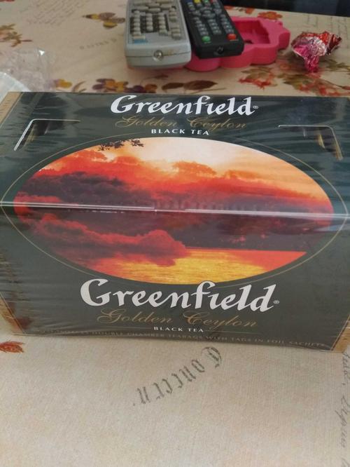 "фото5 Чай черный ""Гринфилд Голден Цейлон"" (Greenfield Golden Ceylon) байховый, 25пак."