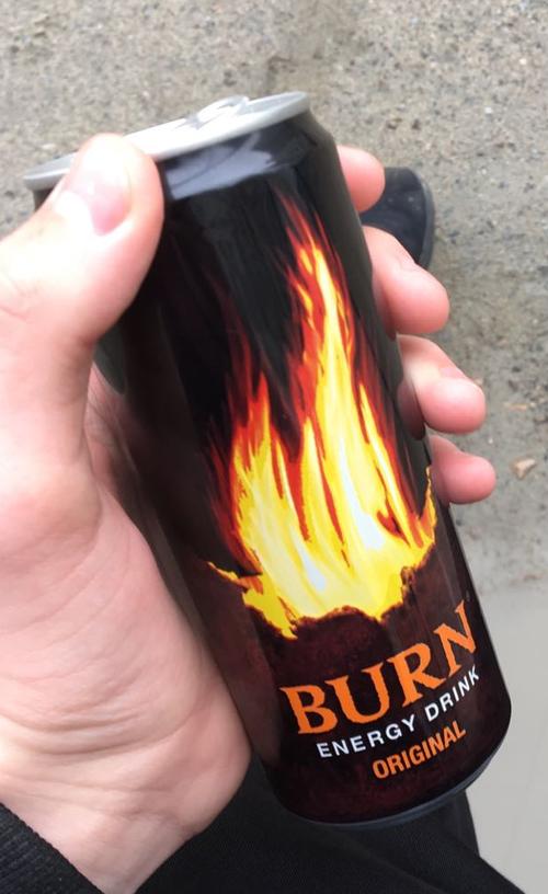 цена Burn энергетический напиток 0.33l