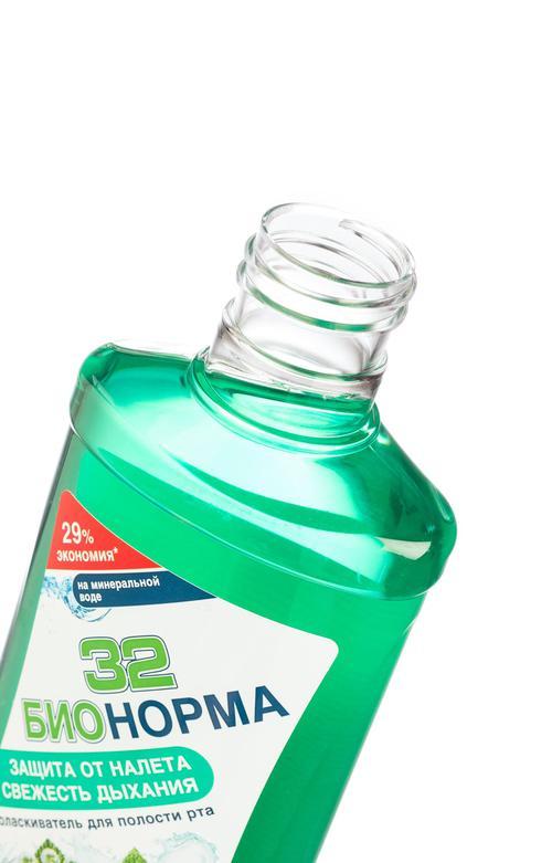 """цена Ополаскиватель для полости рта """"32 защита от налета свежесть дыхания"""""""