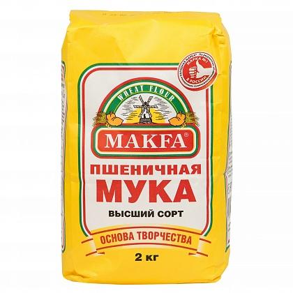фото1 Мука пшеничная хлебопекарная «MAKFA»