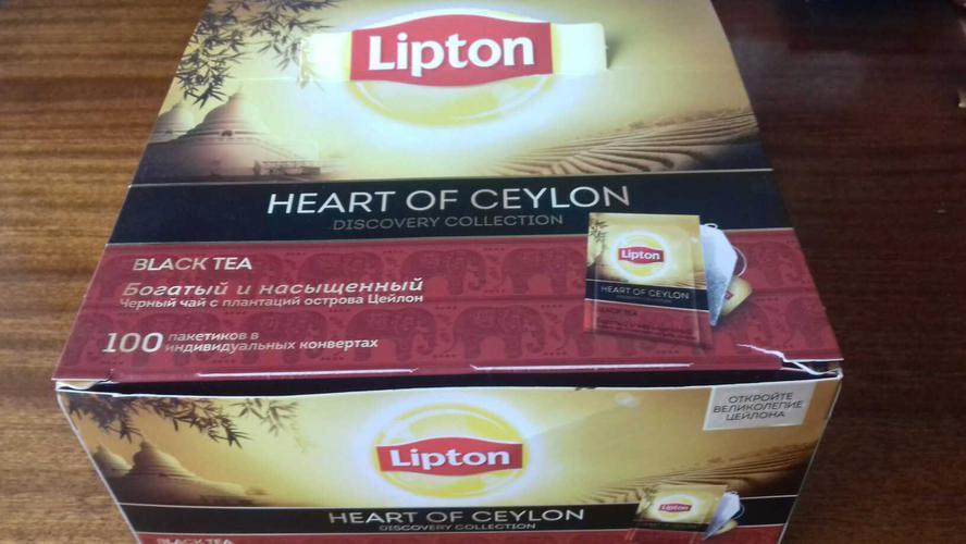 стоимость Чай Lipton