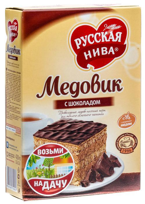 """Торт """"медовик"""" с шоколадом"""