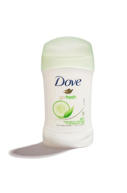 "цена Антиперспирант-карандаш  Dove ""Прикосновение свежести"", 40мл"