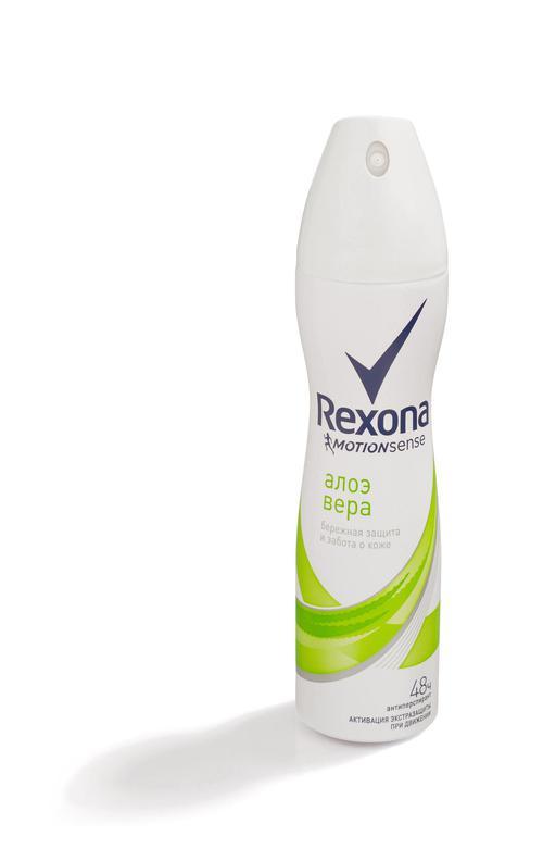 описание Антиперспирант Rexona спрей с экстрактом алоэ вера 150мл