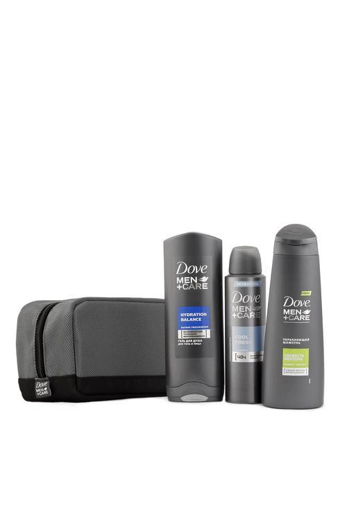 цена Dove Men+Care подарочный набор (250+150+250 мл)