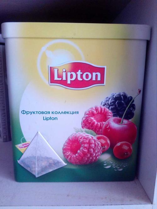 Lipton в пирамидках