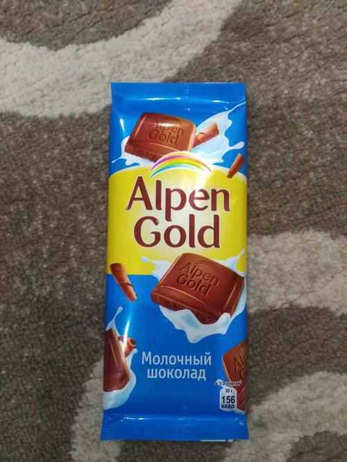 фото28 Шоколад Alpen Gold молочный, 90гр.