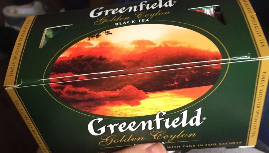 "фото8 Чай черный ""Гринфилд Голден Цейлон"" (Greenfield Golden Ceylon) байховый, 25пак."