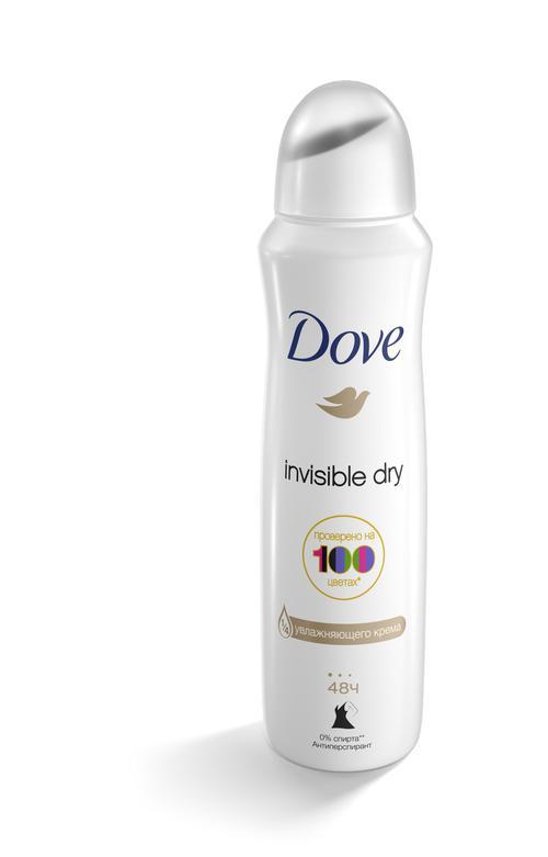 цена Dove антиперспирант-аэрозоль 150мл Невидимый