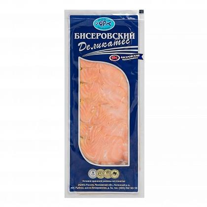 Семга филе-ломтики соленые