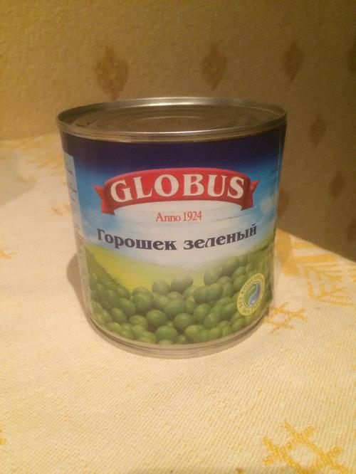 """фото9 Зеленый горошек Globus """"Нежный"""""""