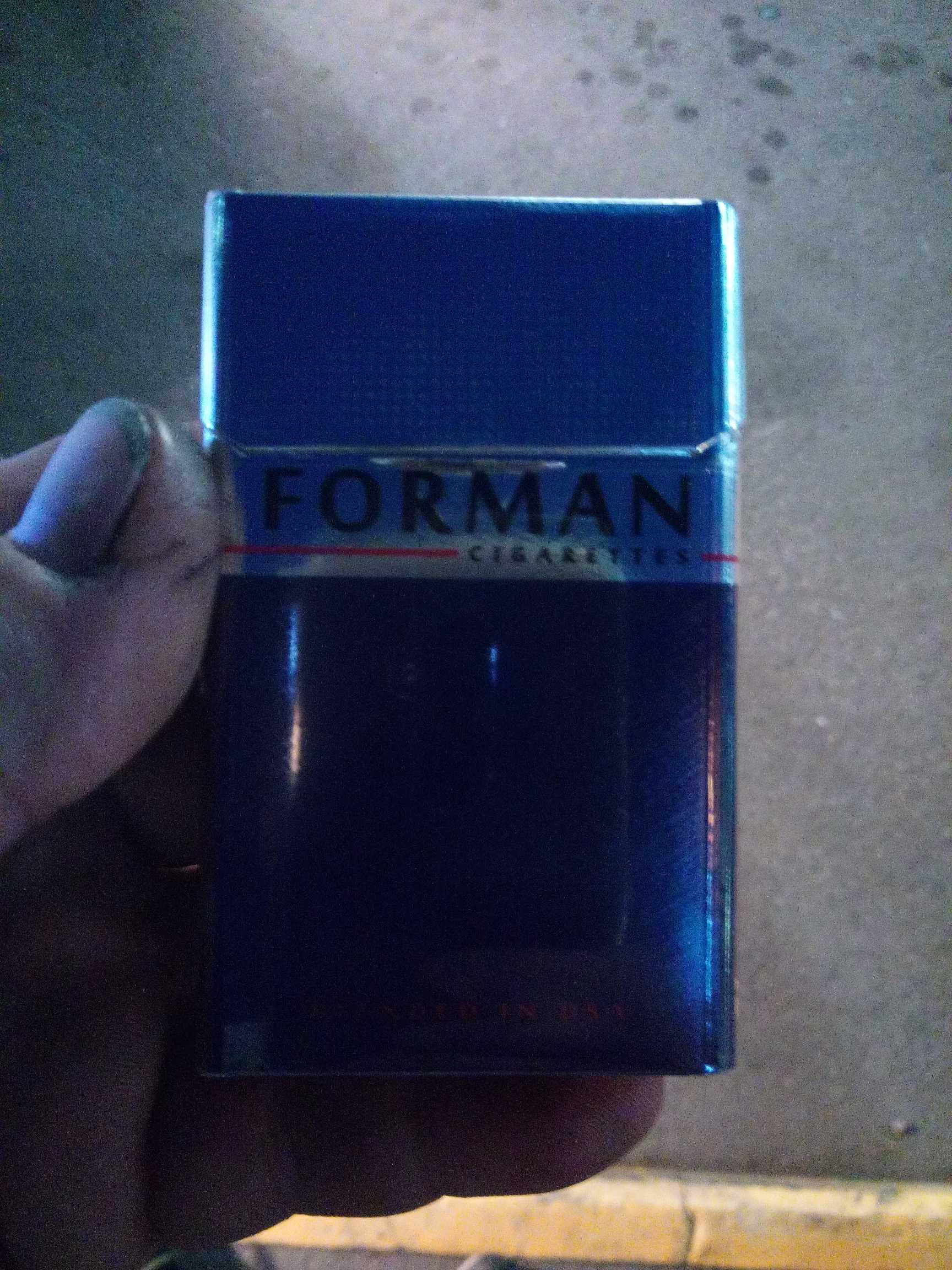 Forman сигареты купить увеличение цены на табачные изделия