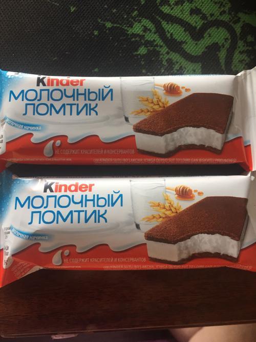 Бисквитное пирожное KINDER Молоко и Мед, 28г.