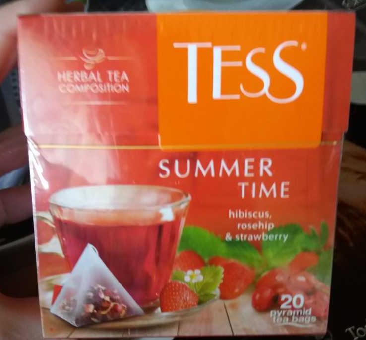 описание Напиток чайный Тесс Самма Тайм в пакетиках