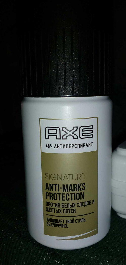 фото Axe Signature. Anti-Marks Protection