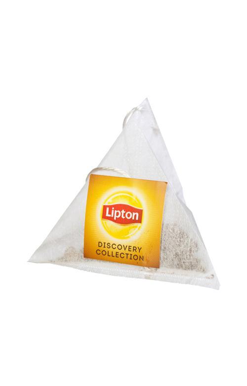 описание Чай черный Lipton Bombay Bazaar байховый ароматизированный со специями, 20пак.