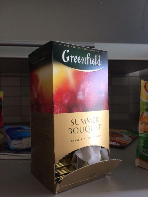 фото3 Напиток чайный Гринфилд Самма Букет в пакетиках