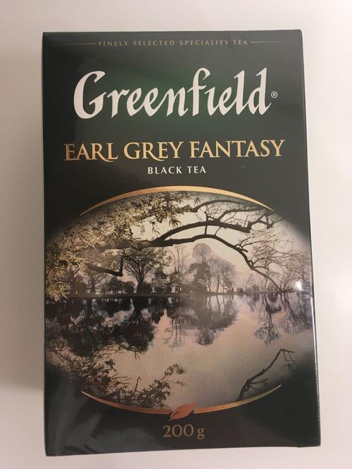 стоимость Чай Greenfield Earl Grey Fantasy чёрный листовой с ароматом бергамота с растительными компонентами