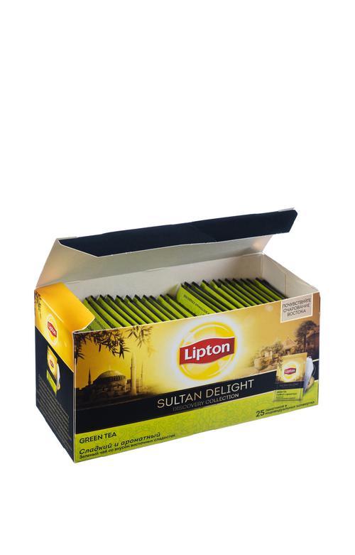 цена Зелёный чай Lipton SULTAN DELIGHT Discovery collection