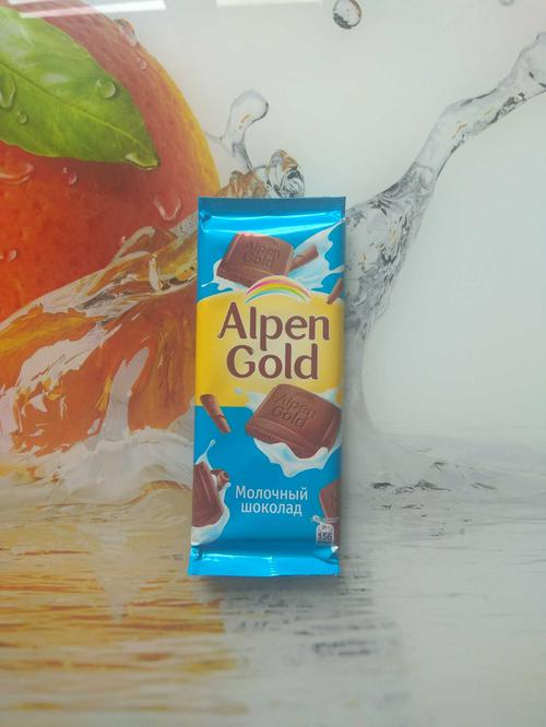 фото8 Шоколад Alpen Gold молочный, 90гр.