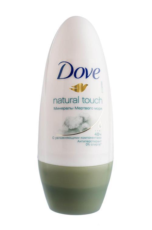 отзыв Антиперспирант Dove Прикосновение природы 50ml