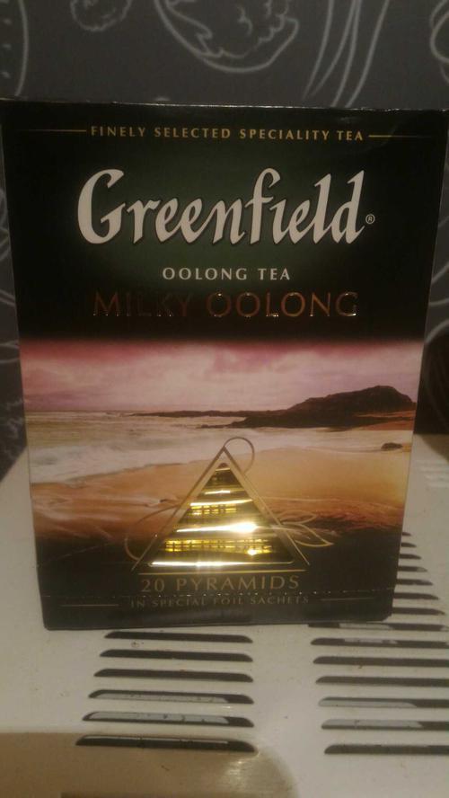 фото1 Чай Гринфилд Milky Oolong  байховый китайский в пакетиках